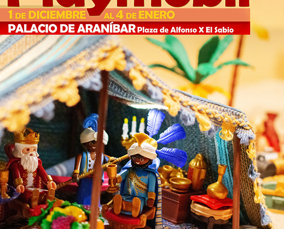 CARTEL BELEN PLAYMOBIL 2018 B